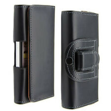 Etui PU Cuir Attache Ceinture Protection Transport pour iPhone 6 / Noir