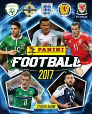 FOOTBALL 2017 STICKER COLLECTION ENGLAND WALES BRAND NEW BOX OF 50 PACKETS ALBUM