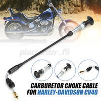 Replacement Choke Cable Carburetors For Harley Davidsons CV40 27421-99C 27465-04