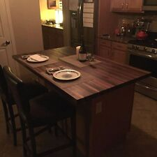 "Forever Joint Walnut Butcher Block Top 1-1/2""x36""x72"" Kitchen Table Top"