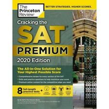 CRACKING THE SAT Premium Edition, 2020 by The Princeton Review