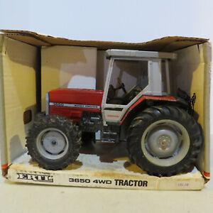 Ertl Massey Ferguson 3650 Tractor Datatronic 1/16 MF-1345DO-BG
