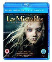 Les Miserables (Blu-ray + Digital Copy + UV Copy) [2012] [DVD][Region 2]