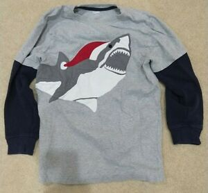 GYMBOREE Boys Size 10 T Shirt Long Sleeve Christmas