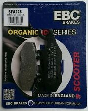Peugeot Geopolis 250 (Nissin / 07 to 12) EBC REAR Organic Brake Pads (SFA228)