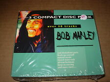 BOB MARLEY self titled / over 30 tracks - 3 cd box set - SEALED -