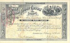 ARIZONA 1883, The Gunsight Mining Company Stock Certificate