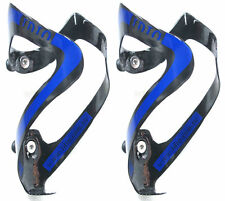 IDIO UD Carbon Water Bottle Cage Black Blue 74mm 2pc