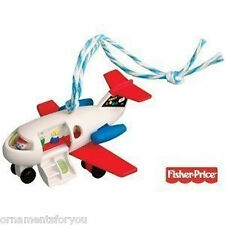 Hallmark 2010 Play Family Jet Fisher Price  Ornament