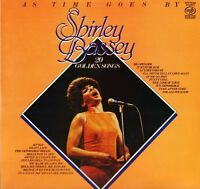 SHIRLEY BASSEY as time goes by MFP 50494 uk music for pleasure LP PS EX/EX