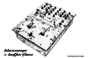 Skin Decal Wrap for RANE Sixty-One DJ Mixer CD Pro Audio Parts DJM CDJ - BLOSSOM
