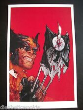 Wolverine Shadowland #1 cover art print poster JOHN TYLER CHRISTOPHER X-Men rare