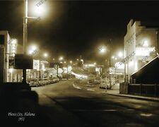 Phenix City, Alabama 1952 8x10 Historic Vintage Photo Reprint FREE SHIPPING!