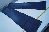 REPLAY WV528 Hustle Bootcut Damen Jeans Hüft Hose schlag  W28 L32 blau NEU ad16