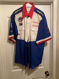 Authentic 1999 ALL AMERICAN RACERS AAR DAN GURNEY CART INDYCAR PIT CREW SHIRT L