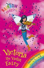 #69 Victoria the Violin Fairy by Daisy Meadows Rainbow Magic Paperback Book