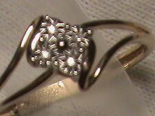 Beautiful 10k Gold Small Diamond Ring