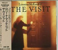 LOREENA McKENNITT The Visit CD JAPAN WMC5-471 1ST PRESS with OBI s5085 s6709