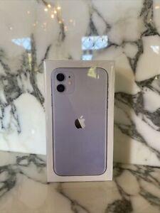 Apple iPhone 11 - 68GB - Purple (T-Mobile) A2111 (CDMA + GSM) UNOPENED