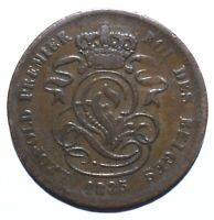 1835 Belgium Two 2 Centimes - Leopold I - Lot 2179