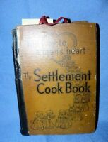 """Vintage """"The Settlement Cook Book, The Way to a Man's Heart"""" 1947"""