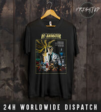 Re-Animator T Shirt H. P. HP Lovecraft Cthulhu Nyarlathotep Horror Halloween