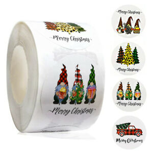 Large Merry Christmas Stickers Presents Gifts Xmas Pine trees Pick Ups & Gnomes