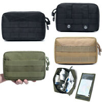 Tactical Large MOLLE Utility Pouch Multi-purpose Admin Bag EMT Medic Waist Pack