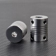 2 pcs 5mm x 8mm For Motor Z Axes CNC Flexible 3D Printer Shaft Coupler Coupling