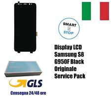 Display LCD Originale Samsung S8 SM-G950F BLACK SERVICE PACK