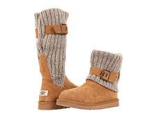 NIB Kids UGG Australia CAMBRIDGE Chestnut Boots - Size 2