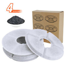 4pc Dog Cat Water Fountain Filter Carbon Pet Drinking Bowl Dispenser Replacement