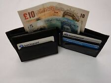 Gents Soft Sheep Skin Leather Wallet for Ten Cards with Back Zip Ideal for Euros