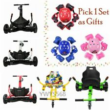 """Hover Cart Go Kart Stand for 6.5"""" 8"""" 10'' Self-balancing Scooter w/ Pads Helmet"""