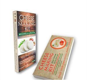 Cheeses Making Kit Goat,Halloumi, Mozzarella & Ricotta Best Unique Gift