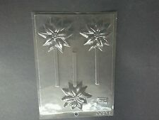 POINSETTIA CHOCOLATE LOLLY MOULD/MOULDS/UNUSUAL STOCKING FILLER/ONE ONLY