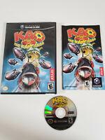 Kao the Kangaroo: Round 2 (Nintendo GameCube, 2006) - Complete - Tested, Works