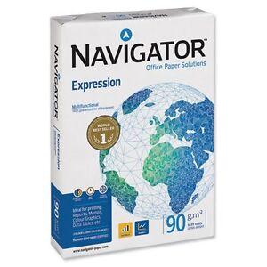 NAVIGATOR A4 90GSM PREMIUM QUALITY PAPER,WHITE COPY COPIER PRINTING LASER INKJET