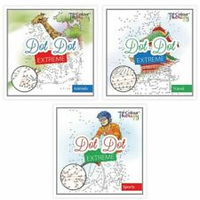 Extreme Adult Dot To Dot Challenge Puzzle Book Brain Teaser Relaxing TActivity
