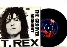 T REX Marc Bolan 7' PS The Groover Denmark RARE TOP CONDITION MARC 5 Danish 45