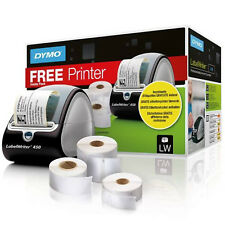 Dymo 3 LW Label Rolls & LabelWriter 450 Label Printer Promotion Pack