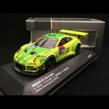 Porsche 911 type 991 GT3 R Nürburgring 2018 n° 911 Manthey racing 1/43 IXO 43011