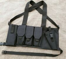 More details for rustys rigs airsoft low profile chest rig sas uksf tfb new