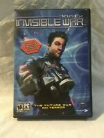 Deus Ex Invisible War PC Game In Box No Manual Fair Condition Fast Shipping