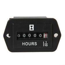 BW#A DC 6V-80V Hour Meter Hourmeter Gauge for Boat Car Truck Engine Rhombus