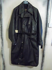 VINTAGE 20/30'S WW2 MASCOT VULCANISED RUBBER MOTORCYCLE COAT JACKET SIZE -3XL