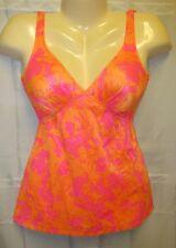 VTG 70's10 S M Catalina Swimwear Dress Swim Built in Bra Hippy GoGo Mod Disco