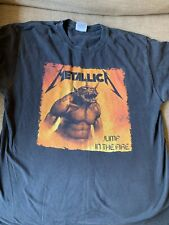 metallica jump in the fire shirt Large