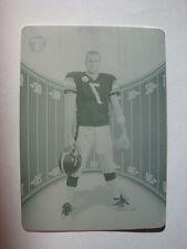 2004 Ben Roethlisberger Topps Pristine Cyan Printing Plate #52 #1/1