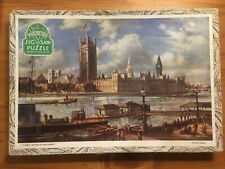 """VICTORY WOODEN JIGSAW. """"Houses of Parliament"""". 120 Pieces. Complete."""